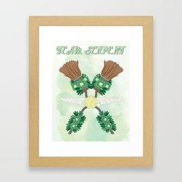 Team Serpent Framed Art Print