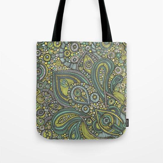 Blue safari Tote Bag