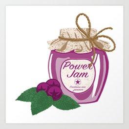 Power Jam Art Print
