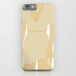 French Woman 03 iPhone Case