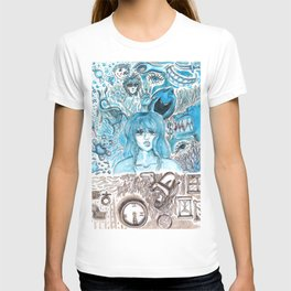 Doodles of Disturbing Thoughts T-shirt