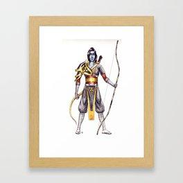 the archer Framed Art Print