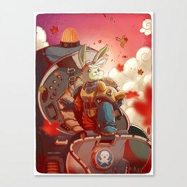 Tweak (remix) Canvas Print