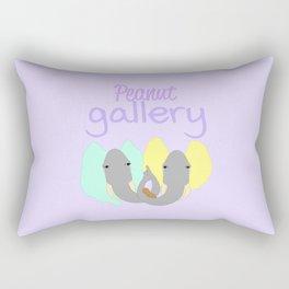 Peanut Gallery Rectangular Pillow