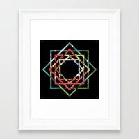 lsd Framed Art Prints featuring LSD. by Kieran Sperring