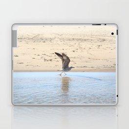 Seagull bird taking off Laptop & iPad Skin