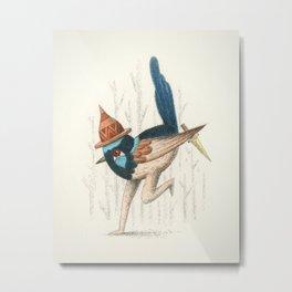 Fairy Wren Metal Print
