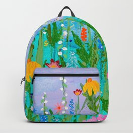 Come Sit in My Garden Backpack