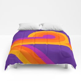 Purple Looper Comforters