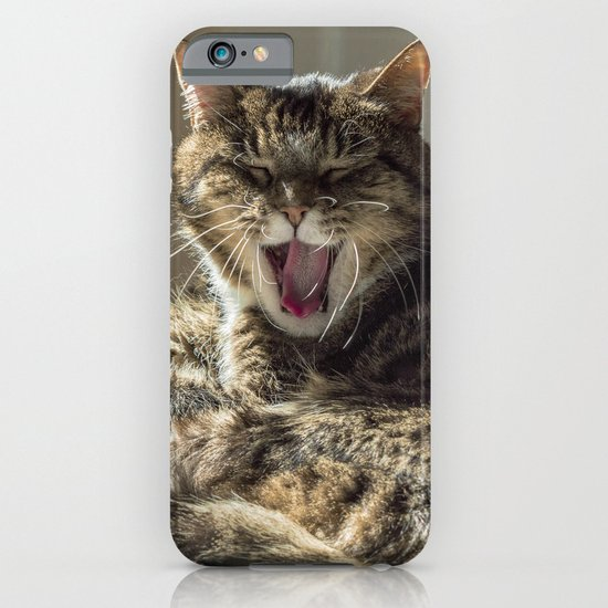 The laughing cat iPhone & iPod Case