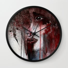 Show me your pain Wall Clock