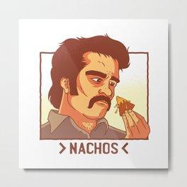 Cheese Nachos TV Parody Metal Print