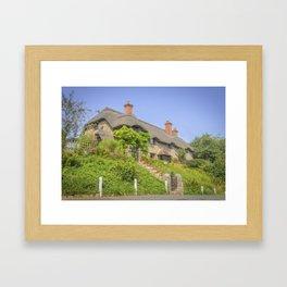 Godshill. Framed Art Print