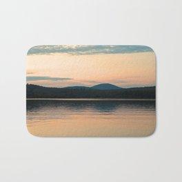 Long Lake Adirondack Sunset Bath Mat