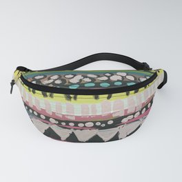The pattern of my heartbeat Fanny Pack