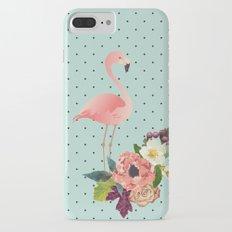 Flamingo de Outono iPhone 7 Plus Slim Case