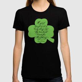 St. Patrick's Day Shamrock Irish Proverb T-shirt