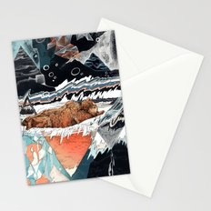 Seconds Behind Stationery Cards
