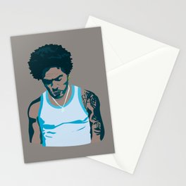 Lenny Kravitz - Portrait III Stationery Cards