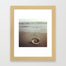 Laid by the Sea Framed Art Print