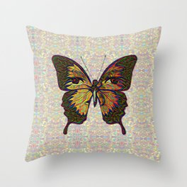 Butterfly Variation 03 Throw Pillow