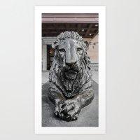 En Garde Art Print