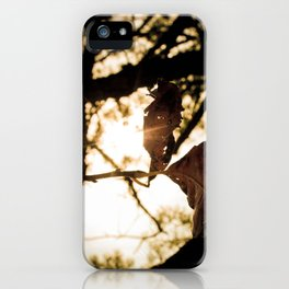 leaf art iPhone Case