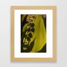 Bell Silhouettes Framed Art Print
