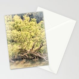 Memories of the river Stationery Cards