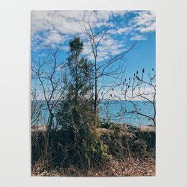 On the blue horizon Poster