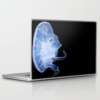 jelly fish Laptop & iPad Skins featuring Jelly Fish by Kerri Ann Crau