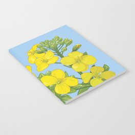 Summer flower in yellow Notebook