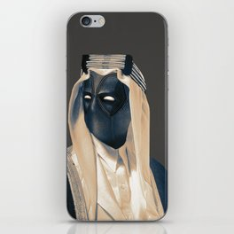 Dead pool Arabian style iPhone Skin