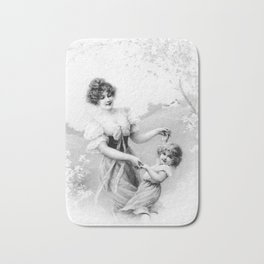 Mother and Child Bath Mat