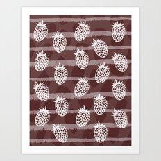 Ananasberry Art Print