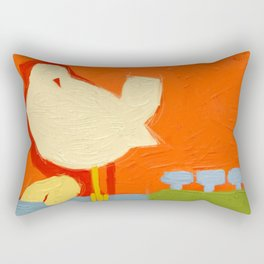 1969- a tribute to  Arnold Skolnick Rectangular Pillow