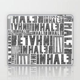 INhaler typo x2 Laptop & iPad Skin