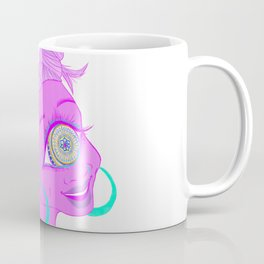 Mandala Cyclops Coffee Mug