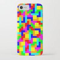 tetris iPhone & iPod Cases featuring Tetris by tonilara