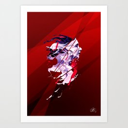 Insoluble Art Print