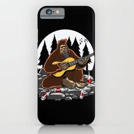 Camping Bigfoot Mountain Hiking iPhone Case