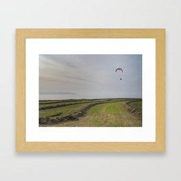 Paraglider Framed Art Print