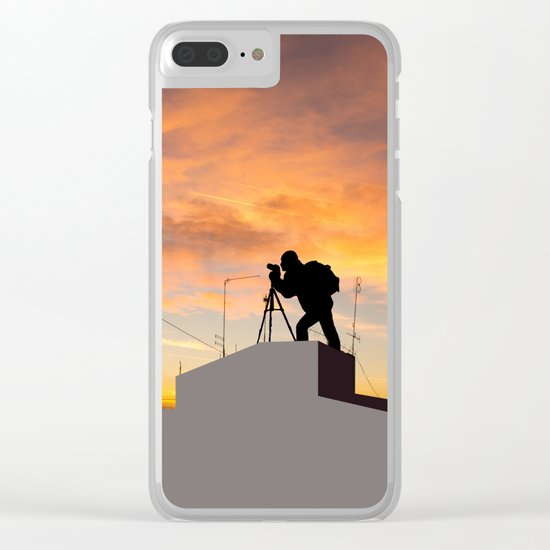 Perfect Shot Clear iPhone Case