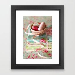 Craft Room - pastel Framed Art Print
