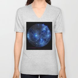 Blue Moon. Unisex V-Neck