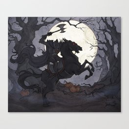 The Headless Horseman Canvas Print