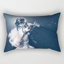 Masca Zambitoare Rectangular Pillow