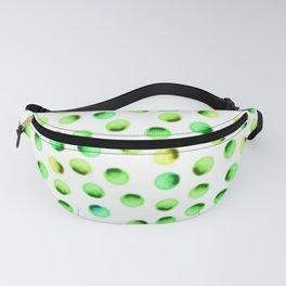 Green Polka Dots Fanny Pack