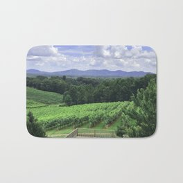 In Wine Country Bath Mat