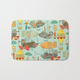 steampunk sky Bath Mat